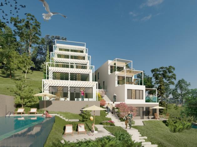 Oaza mira na Jablaničkom jezeru - Sarajevski MFC počeo izgradnju kompleksa Royal Terrace vrijednog 2 mil KM (FOTO)