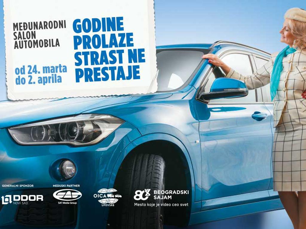 Dodeljene nagrade na Međunarodnom salonu automobila u Beogradu