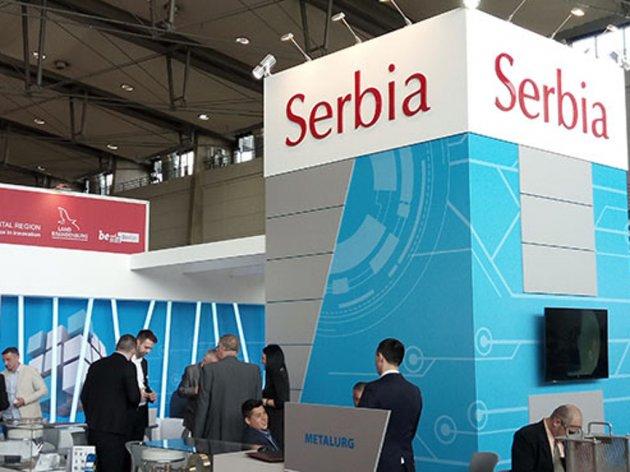 Štand Srbije na Hannover Messe 2017