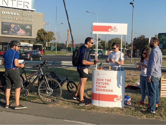 Nur nicht mit dem Auto - Frühstück für Radfahrer am 21. September