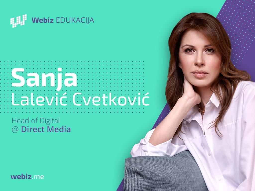 Sanja Lalević Cvetković, digital media menadžer u agenciji Direct media - Rast digitalnog oglašavanja neupitan i u 2018.
