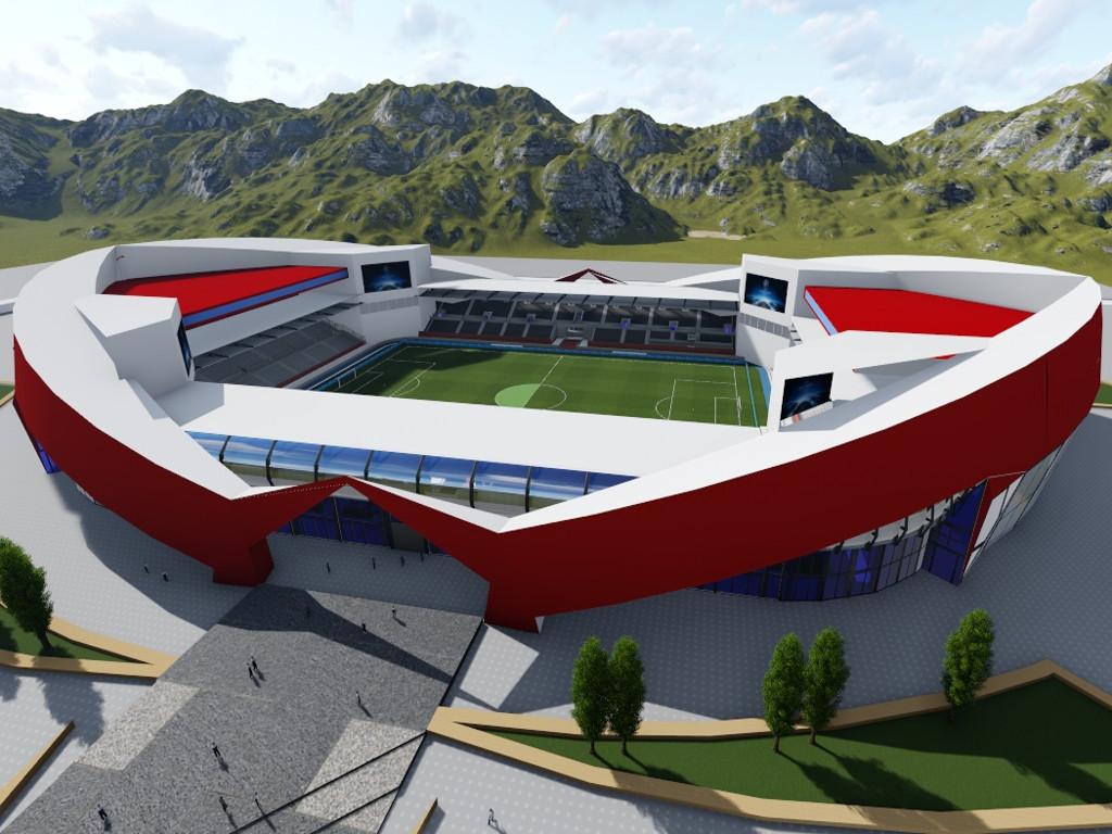 Bordo klub traži lokaciju za novi stadion - Sarajevo Arena vrijedna 20 mil EUR imaće hotel i savremenu sportsku kliniku (FOTO)