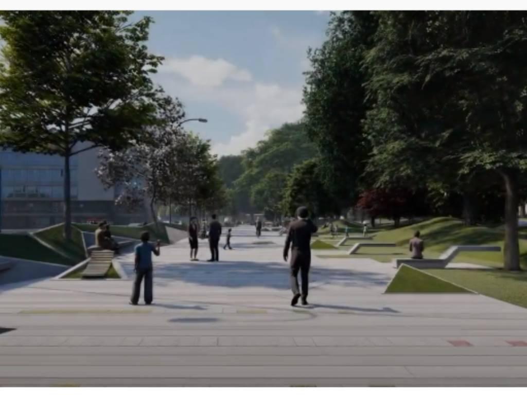"""Ovako će izgledati nova pješačka zona """"sarajevski ćilim"""" - Studio Zec predstavio idejno rješenje (VIDEO)"""