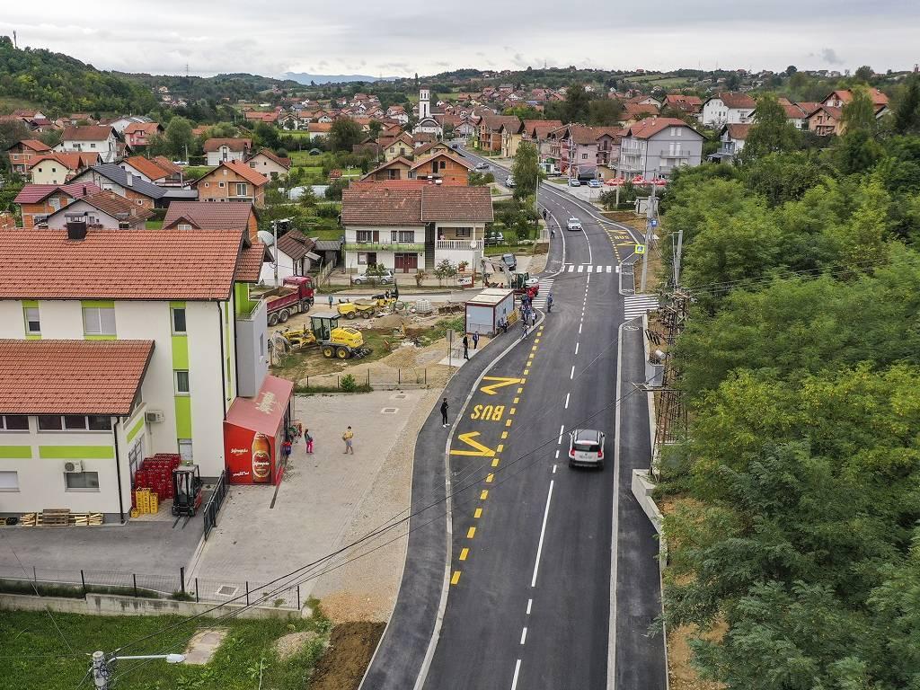 Puštena u saobraćaj novoizgrađena saobraćajnica kroz banjalučki Šargovac