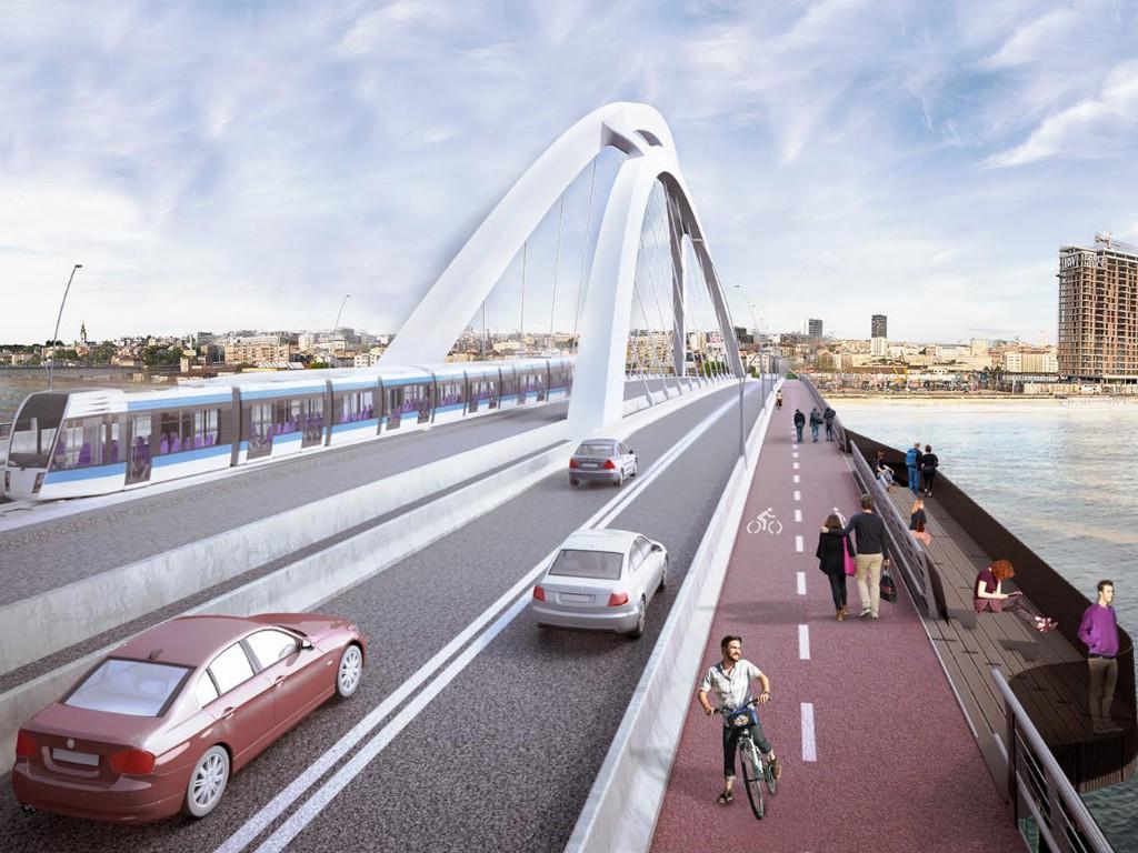 Kako će izgledati saobraćajnice ka novom savskom mostu? - Predstavljen urbanistički projekat