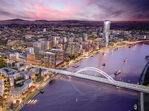Wie die neue Brücke über die Save aussehen wird - preisgekrönte Lösung