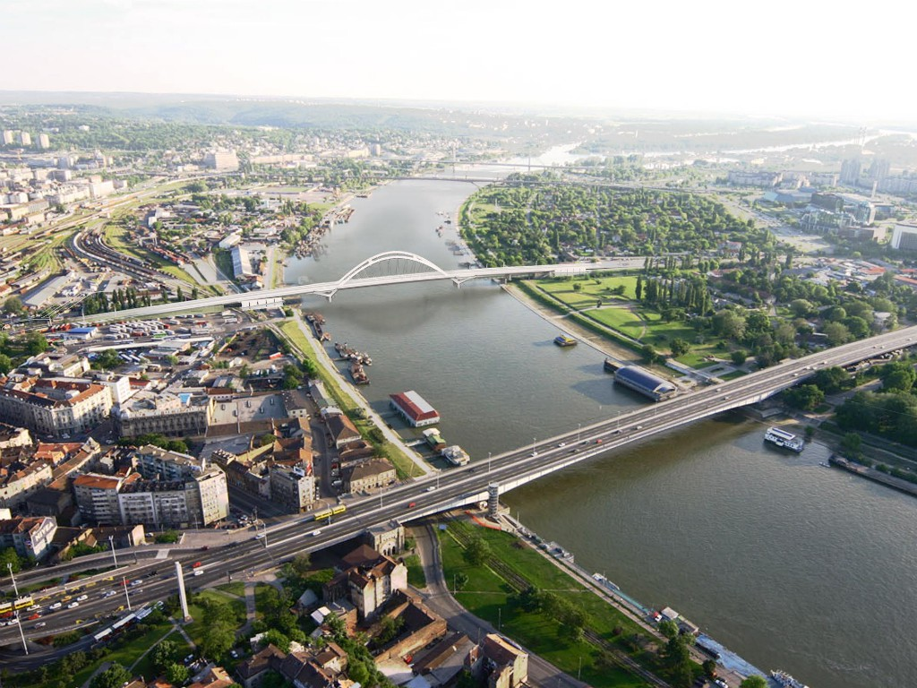 Gradnja novog beogradskog mosta na Savi planirana za 2020. - Predstavljamo detalje idejnog projekta (FOTO)