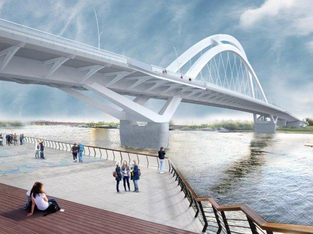 Budući izgled novog Savskog mosta