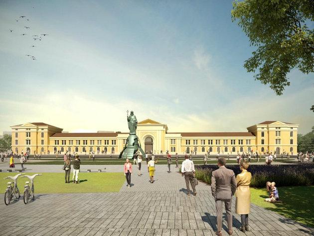 Pobednički rad španskog biroa Fenwick Iribarren Architects na konkursu za uređenje Savskog trga u Beogradu (FOTO)