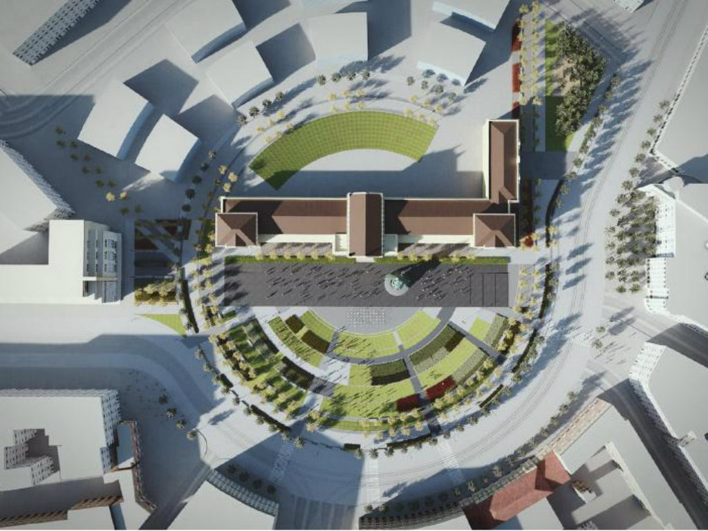 Izmenjen urbanistički projekat za Savski trg (FOTO)