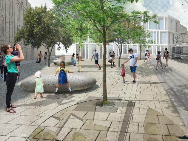 Savski i Travnički trg u Beogradu kao medaljoni grada - Kako autori projekta City Lockets vide javni prostor (FOTO)
