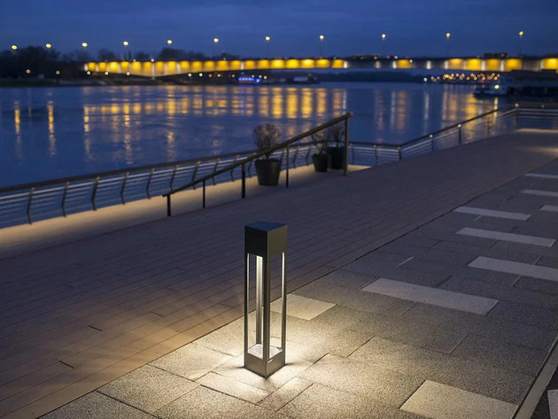 Osvetljenje promenade, Beograd na vodi