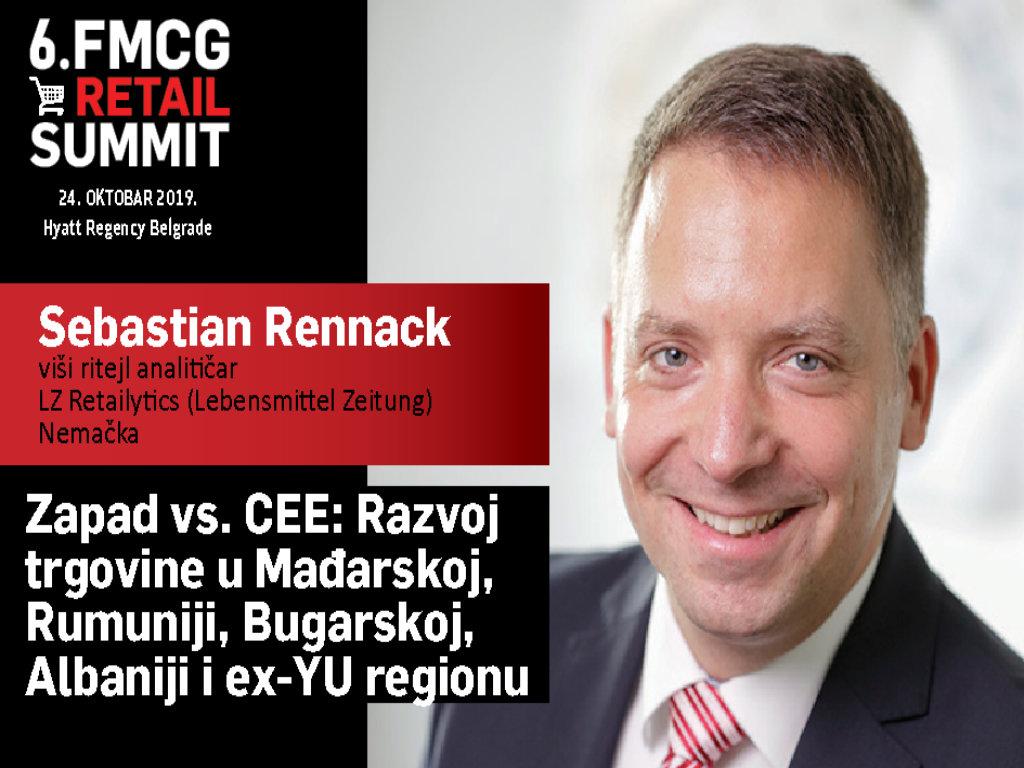 Sebastian Rennack, viši ritejl analitičar, LZ Retailytics - Pred multi-format ritejlerima su veliki izazovi