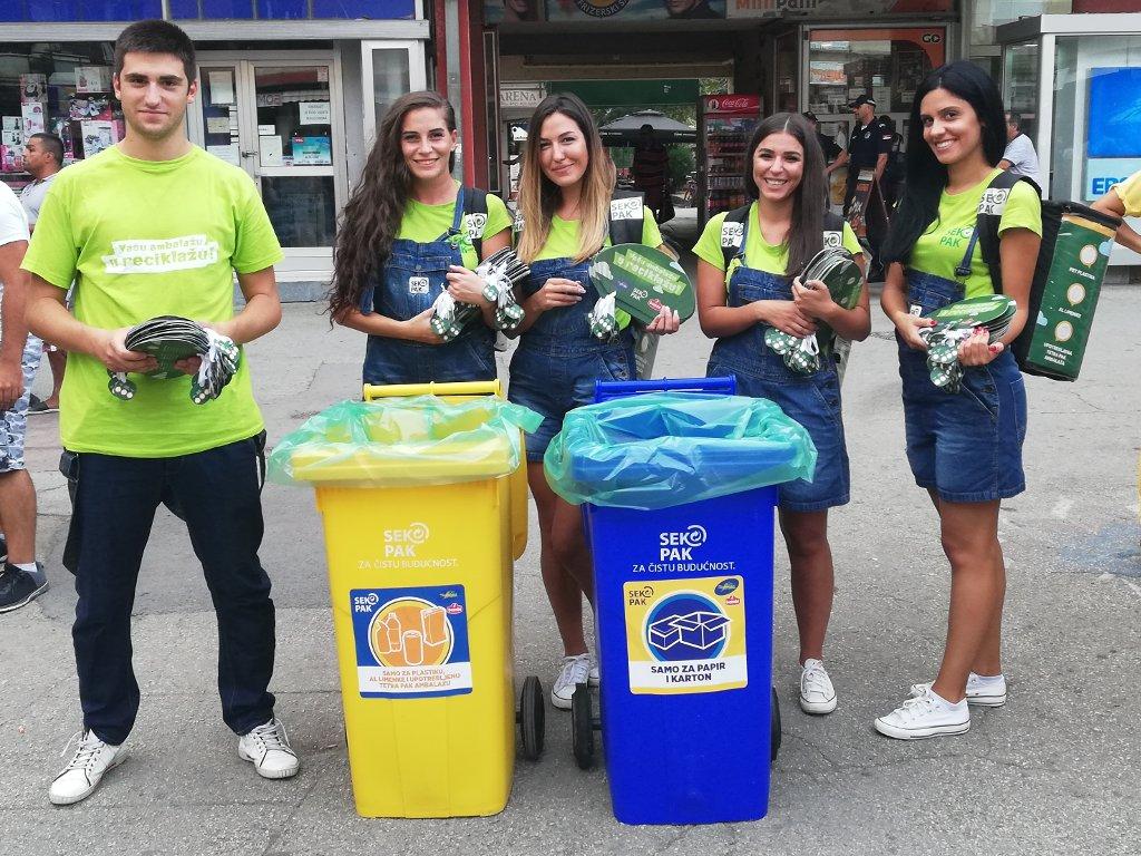 Sekopak organizovao akciju prikupljanja ambalažnog otpada na Ljubičevskim konjičkim igrama