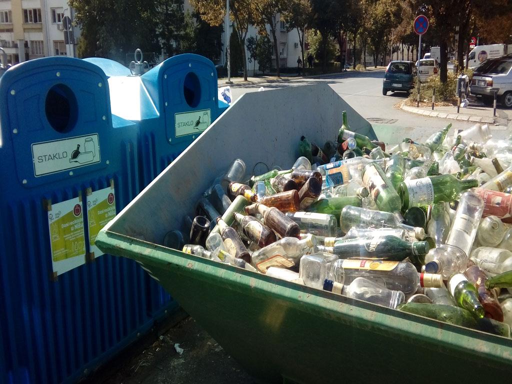 Nišlije poslale na reciklažu više od 20 tona staklene ambalaže