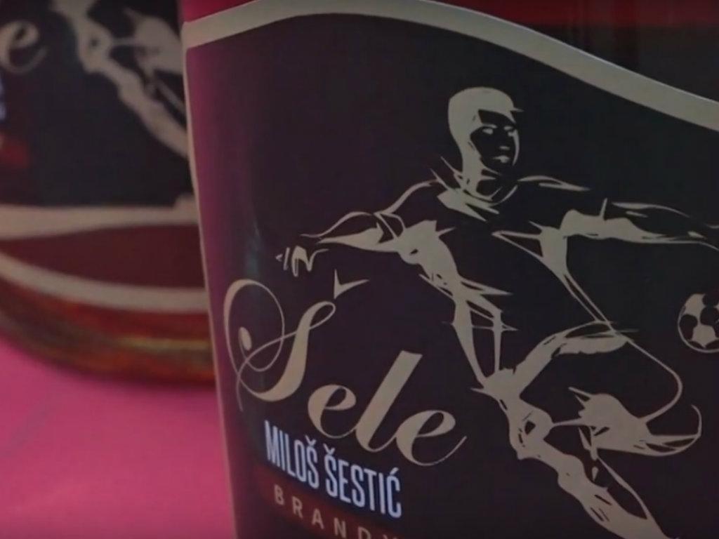 """Konjak """"Miloš Šestić Šele"""" - Piće sa imenom bivšeg Zvezdinog asa možete probati na Paliću"""
