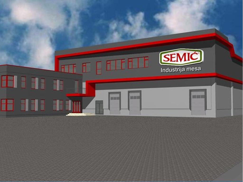 """Industrija mesa """"Semić"""" gradi novi pogon u Visokom - Investicija vrijedna 12 mil KM"""