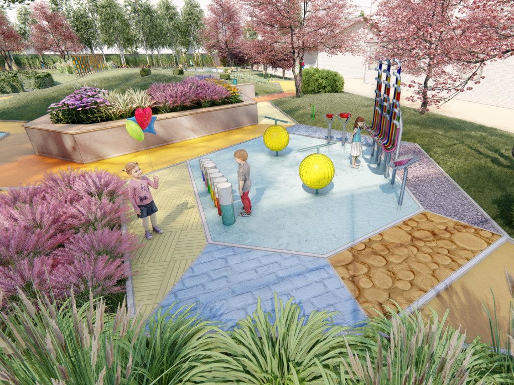 Potrebno 25 miliona dinara za realizaciju senzornog vrta u Staroj Pazovi - Zahtevni projekat pejzažnih arhitekata od velikog društvenog značaja (FOTO)