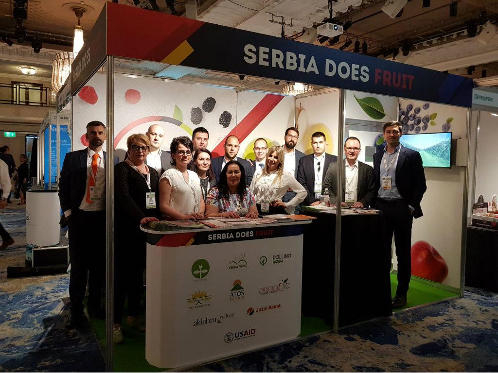 USAID podržao učešće osam srpskih proizvođača voća na sajmu u Londonu