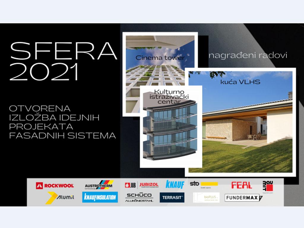 Sfera nagradila projekte na onlajn izložbi fasadnih sistema
