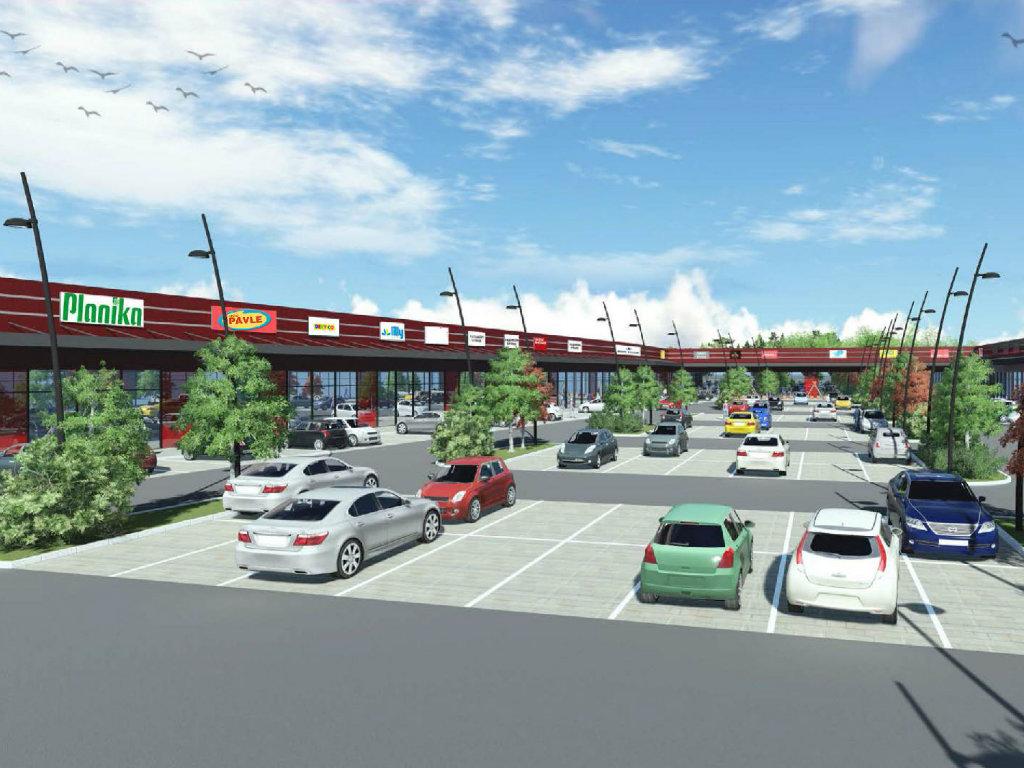 Uskoro počinje izgradnja tržnog centra Shop Park u Gornjem Milanovcu - Otvaranje planirano za septembar 2020.