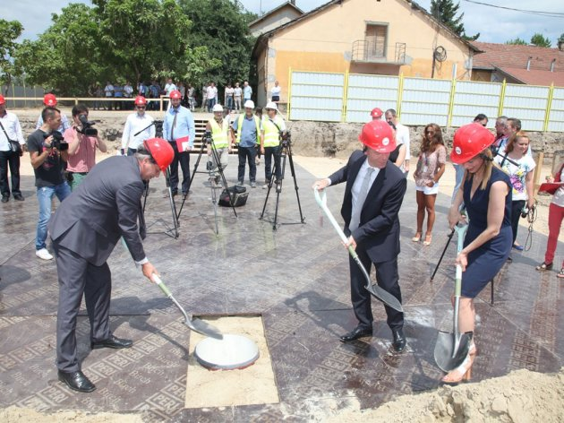Construction of retail park in Subotica started - MPC Properties pours EUR 10 m and hires 250 people