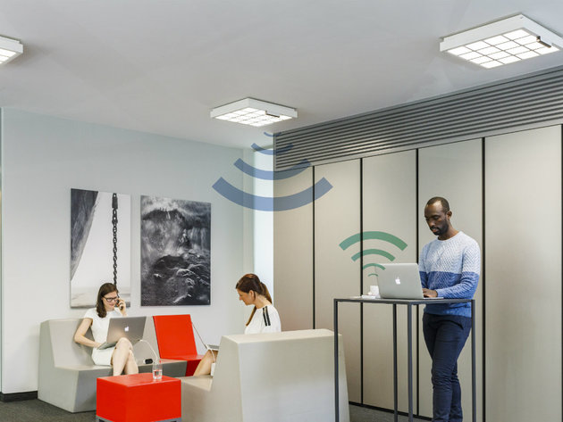 Trulifi is ideal for open-plan office spaces