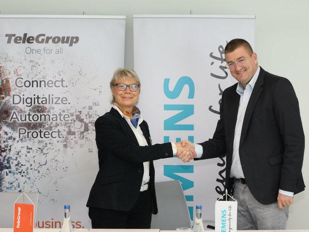 Potpisan memorandum o sporazumevanju kompanija Siemens i TeleGroup
