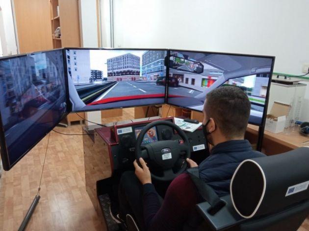 Mašinski fakultet obezbijedio simulator vožnje kroz projekat TRAFSAF