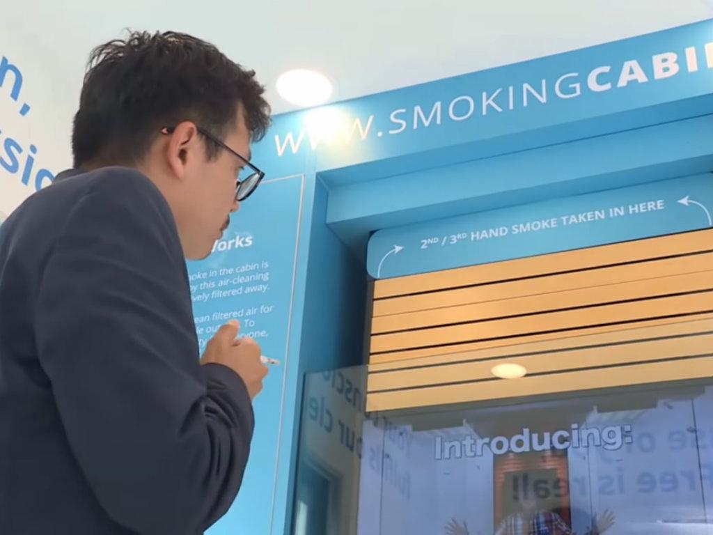Singapur na ulice postavio kabine za pušače - Pušenje na javnim mjestima kažnjava se sa oko 680 EUR (VIDEO)