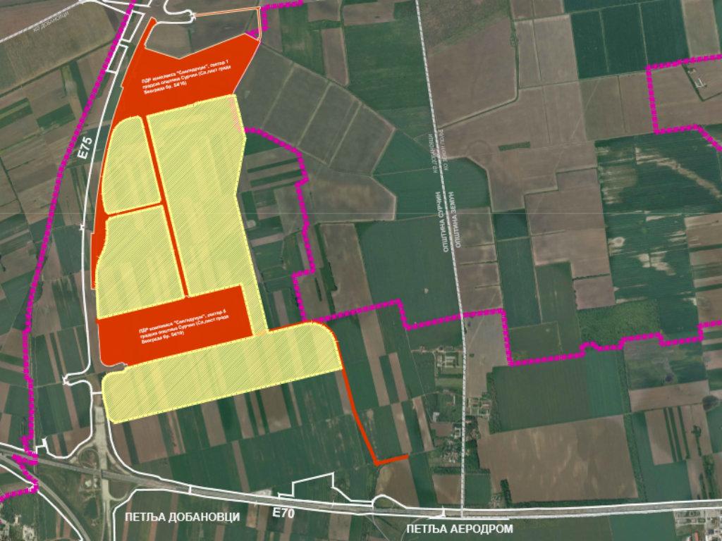 Kod Dobanovaca niče novi Singidunum - Na 220 ha u planu industrijski park, stambeno-poslovni centar, vrtići, škola, klinika...