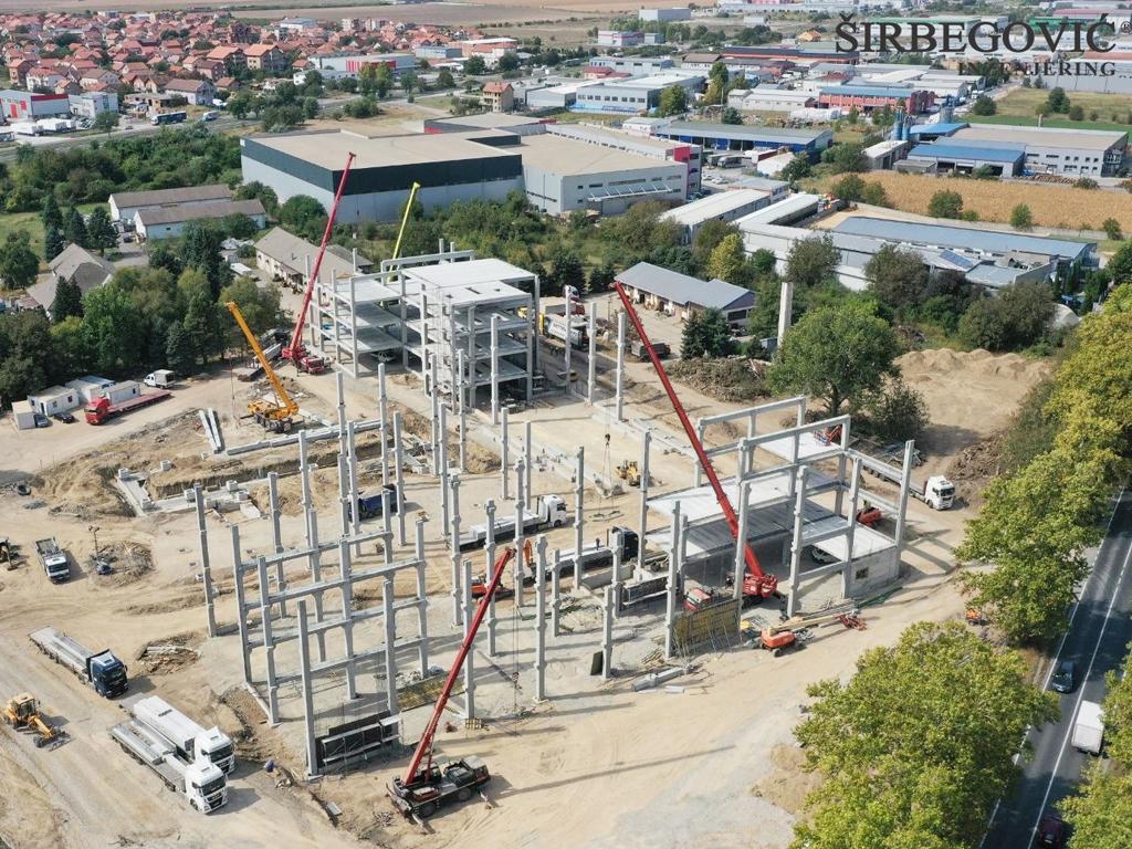 Širbegović radi AB konstrukciju buduće kovid bolnice u Beogradu