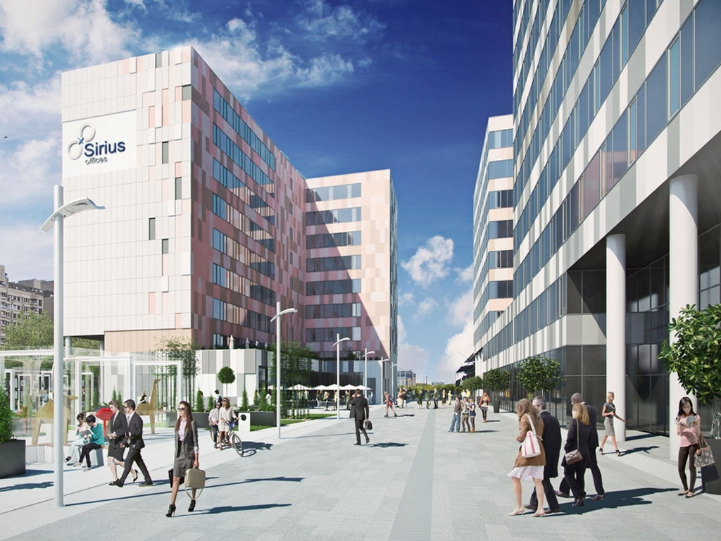 Novi Beograd to get business complex Sirius - In Block 43, some EUR 40 m will be invested (PHOTO)