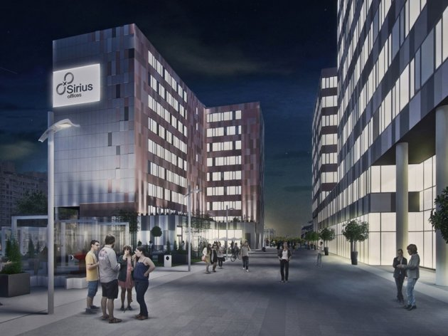 Second phase of construction of Sirius Offices business complex in New Belgrade begins – Investment worth EUR 25 million, opening in 2Q 2020