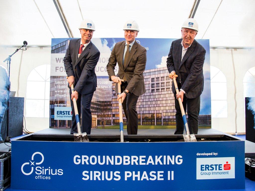Počela druga faza izgradnje poslovnog kompleksa Sirius Offices na Novom Beogradu - Investicija vredna 25 mil EUR, otvaranje u drugom kvartalu 2020.