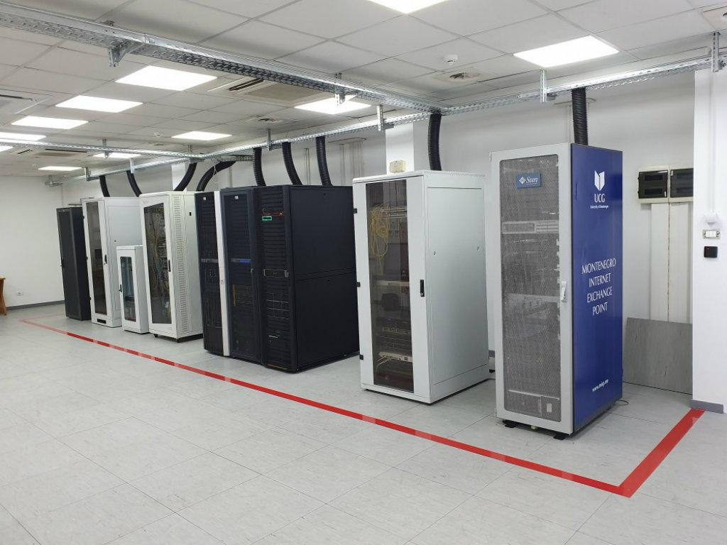 Sistem sala Centra informacionog sistema UCG potpuno renovirana - Investicija vrijedna 140.000 EUR