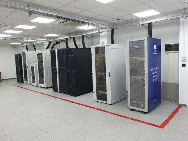 Novi server sistem sale Centra inofrmacionog sistemaUCG