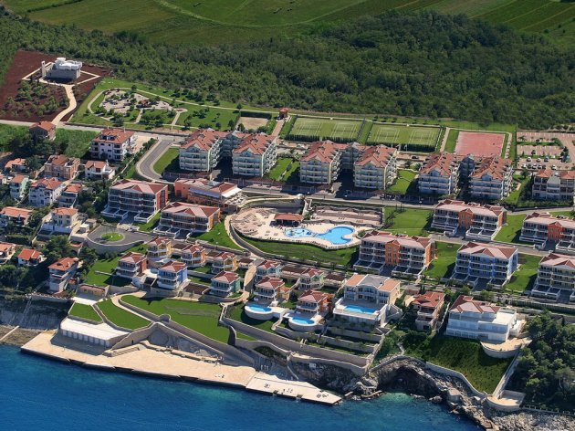 Hotel complex Skiper Resort in Istria