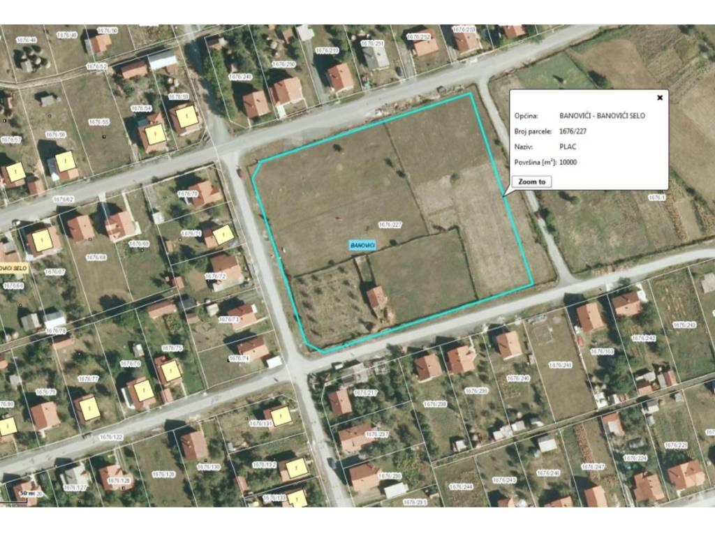 Raspisan tender za I fazu gradnje novog objekta OŠ Banović Selo - Vrijednost radova 2,1 mil KM
