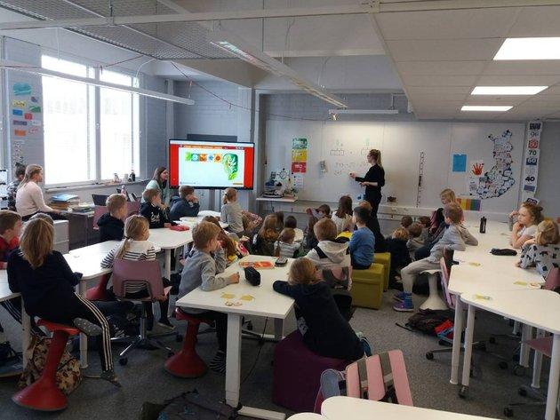 Čas matematike u osnovnoj školi Lauttasaari