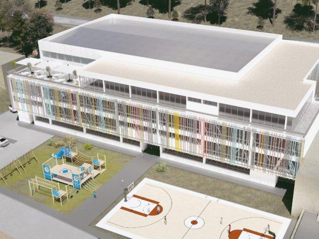 Počela izgradnja sportske dvorane OŠ Umihana Čuvidina - Vrijednost projekta 5 mil KM