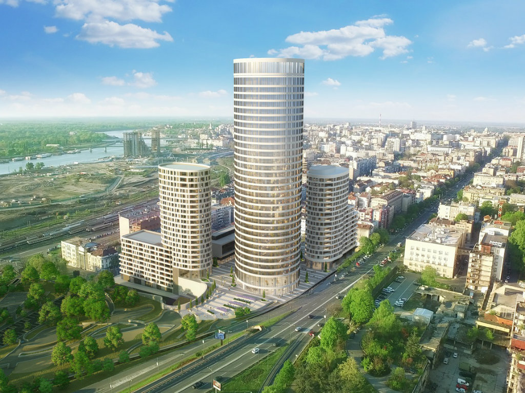 First tower in Kneza Milosa Street by the end of 2020 – Skyline complex to also feature underground garage with 900 parking spaces, spa and gym zone