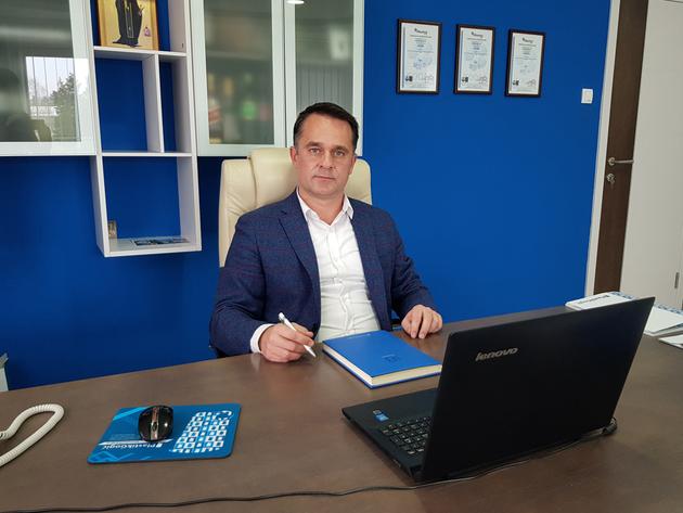 Slobodan Gogić, direktor preduzeća Plastik Gogić - Proizvodi iz Inđije na ulicama svetskih metropola