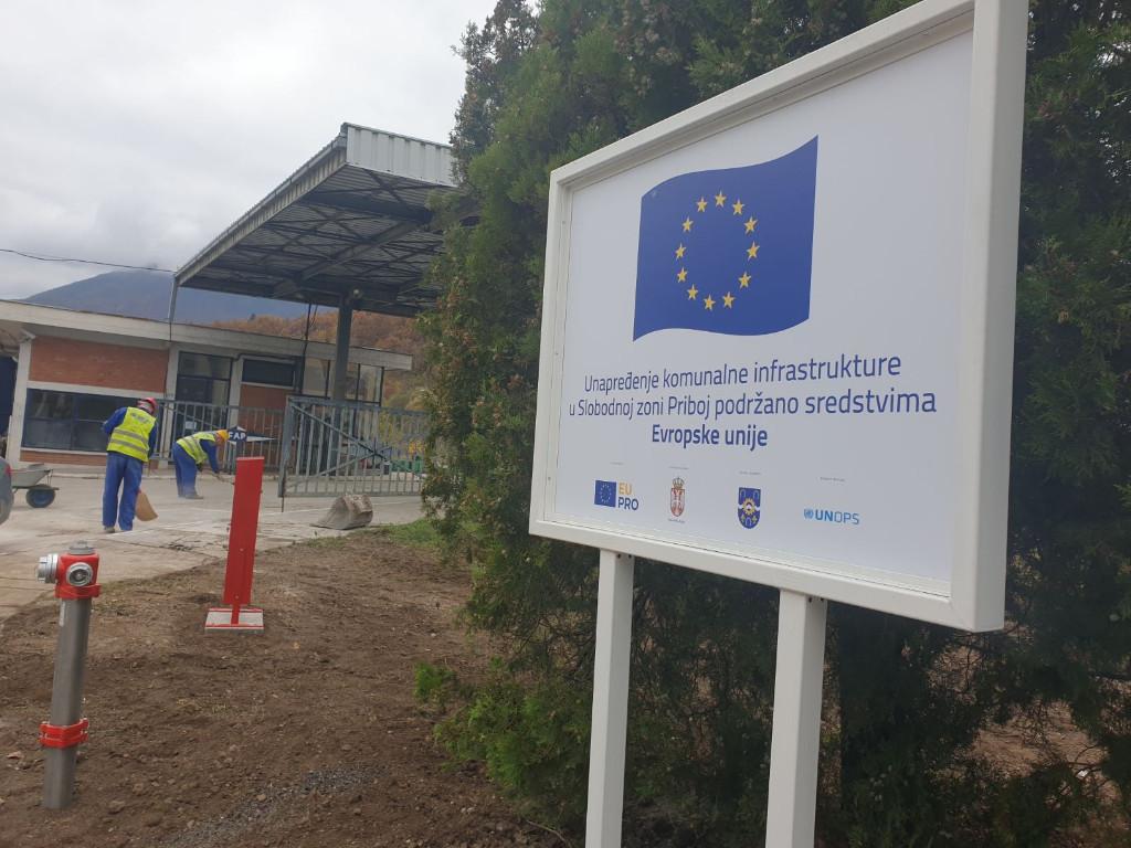 Uz EU industrijska zona u Priboju spremnija za investitore - Završeni radovi na rekonstrukciji postojeće i izgradnji nove vodovodne i hidrantske mreže