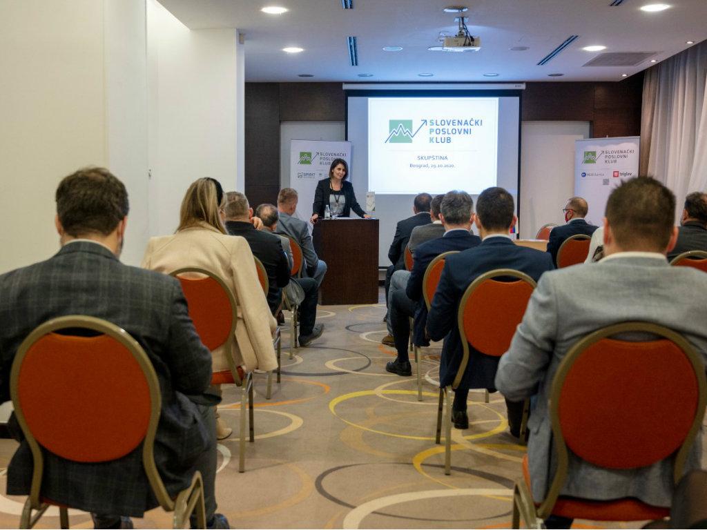 Na Skupštini Slovenačkog poslovnog kluba usvojeni izveštaj o radu i finansijski izveštaj za 2019.