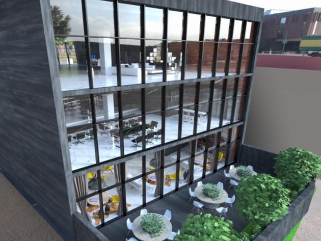 Das zukünftige Aussehen des Smart City Center