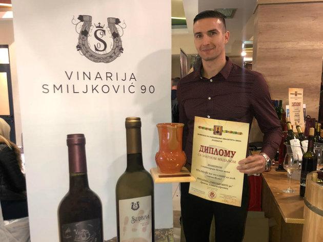 Vladimir Smiljković nastavlja porodičnu tradiciju - Sudbina i Vihor prve etikete, u planu i zasad prokupca (FOTO)