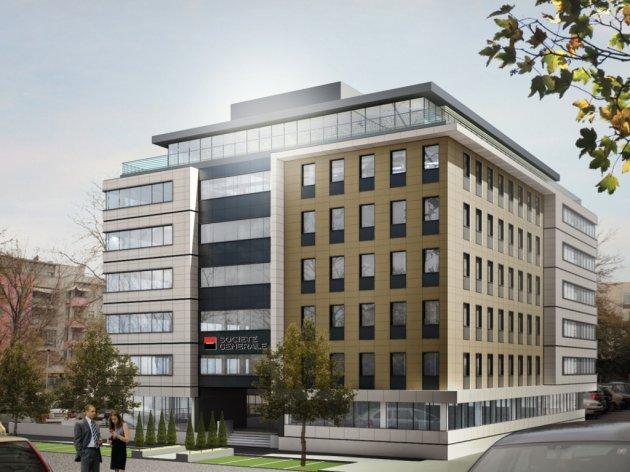 Morgen Grundsteinlegung für neue Zentrale der Societe Generale Bank - Projekt im Wert von 14,5 Mio. EUR