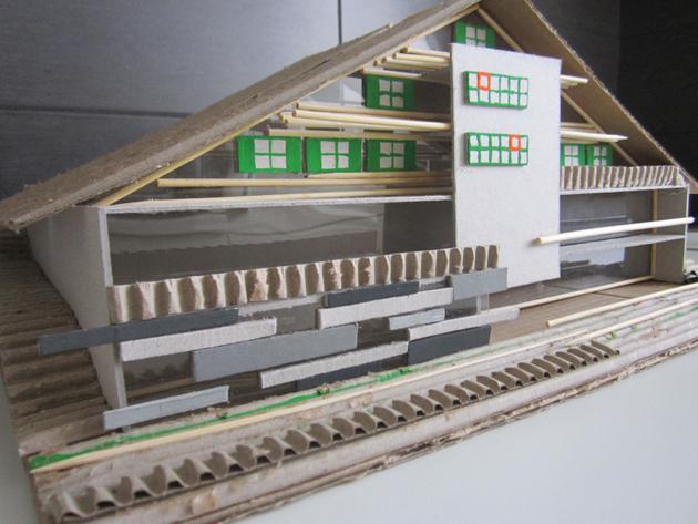 Planirani izgled glavne kuće