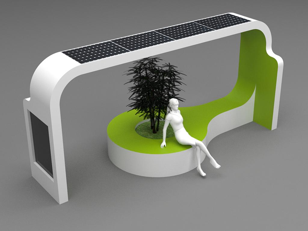 Banjalučki inženjeri kreirali solarne mobilijare sa etno motivima - Traže se partneri za proizvodnju futurističkih uređaja (FOTO)